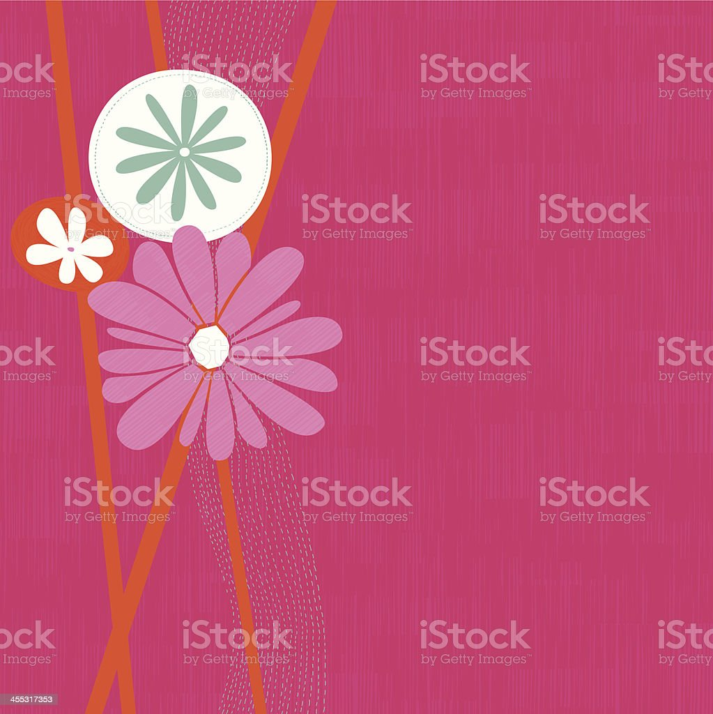 Abstract floral background - Royalty-free Backgrounds stock vector