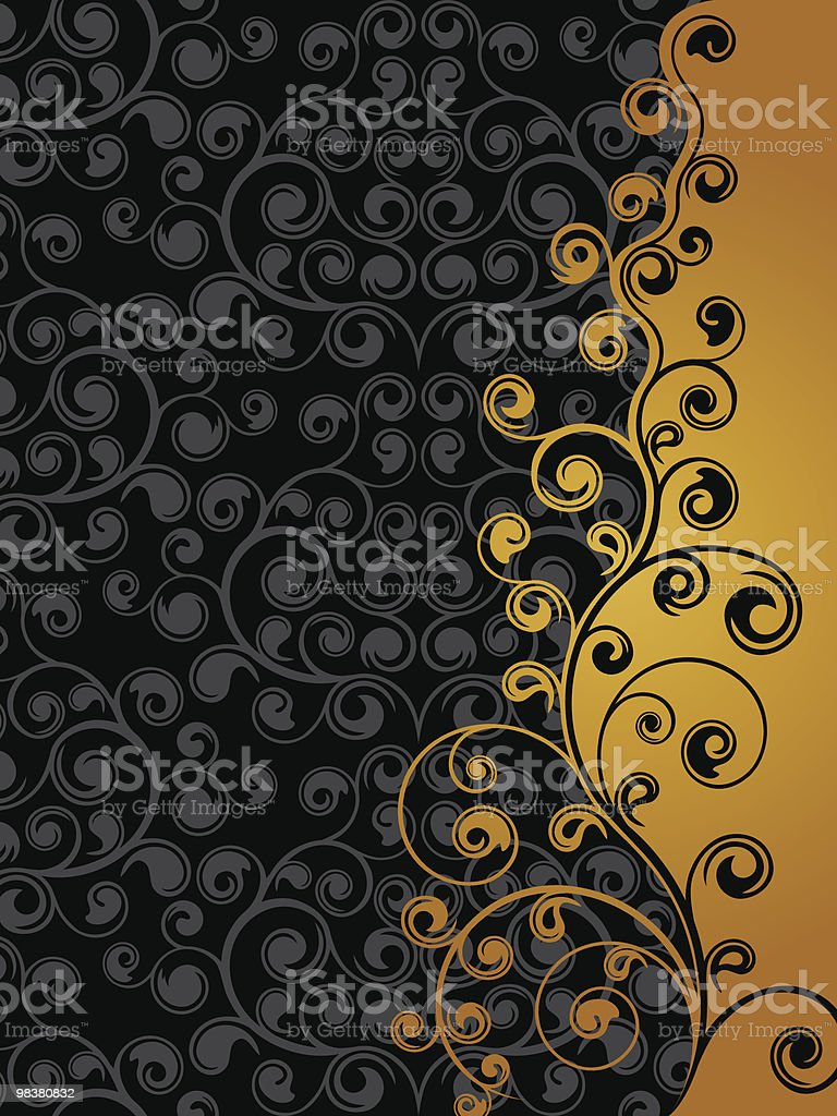 Abstract floral background royalty-free abstract floral background stock vector art & more images of abstract