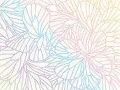 vector, illustration, flat design doodle textured background