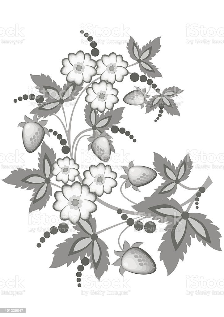 Abstract floral branch royalty-free abstract floral branch stock vector art & more images of abstract