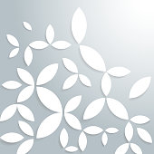 abstract floral pattern background.(ai eps10 with transparency effect)