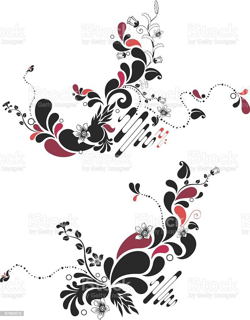 abstract floral pattern royalty-free abstract floral pattern stock vector art & more images of abstract