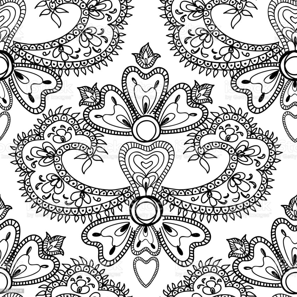 Abstract Floral Patterns Chinese Porcelain Ornament Stock