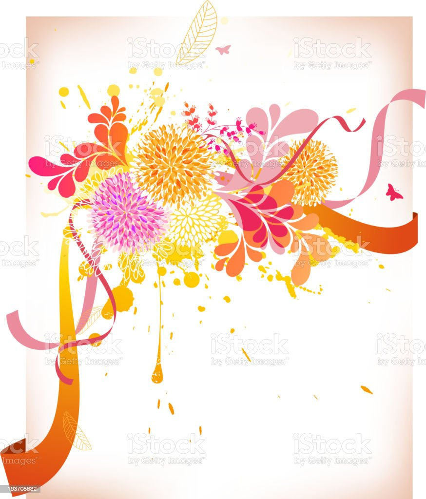 Abstract Floral royalty-free abstract floral stock vector art & more images of abstract