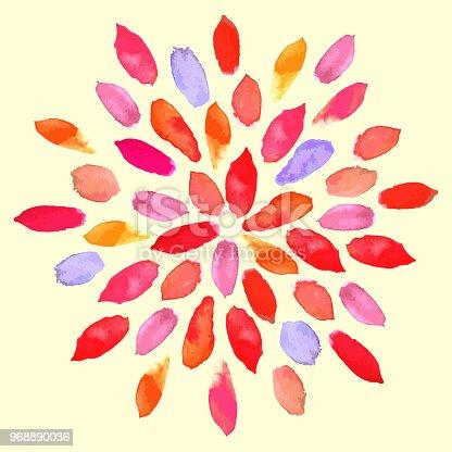 Istock Abstract Floral Pintura De Acuarela 482297751 Istock Adorno