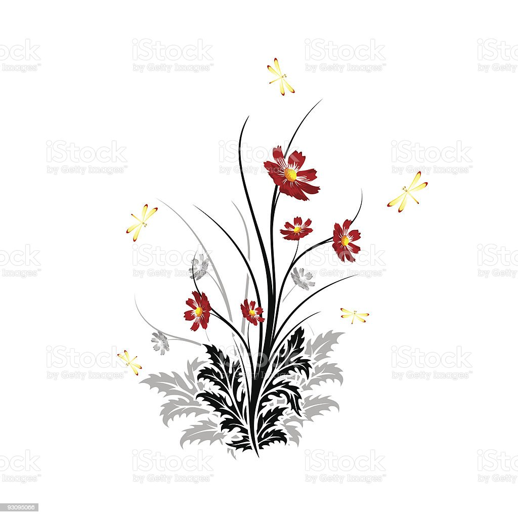 Abstract Flowers royalty-free abstract flowers stock vector art & more images of abstract