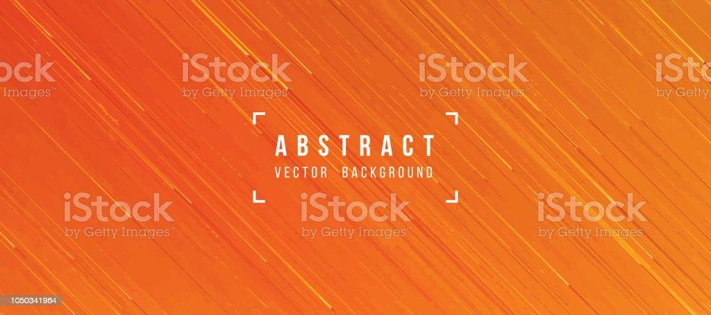 Abstrakte fliessende Lava Textur Orange gelb hinterlegt - Lizenzfrei Abstrakt Vektorgrafik