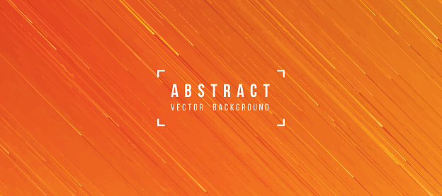 Abstract Flowing Lava Texture Orange Yellow Background