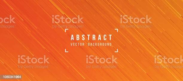 Abstrakte Fliessende Lava Textur Orange Gelb Hinterlegt Stock Vektor Art und mehr Bilder von Abstrakt