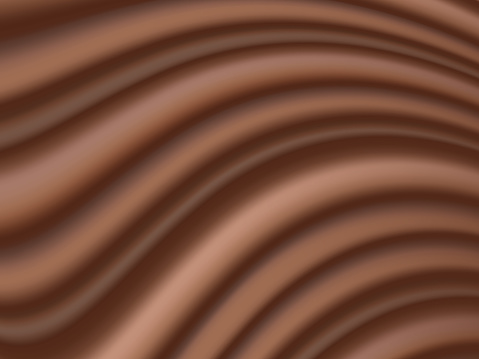 Abstract fluid chocolate background