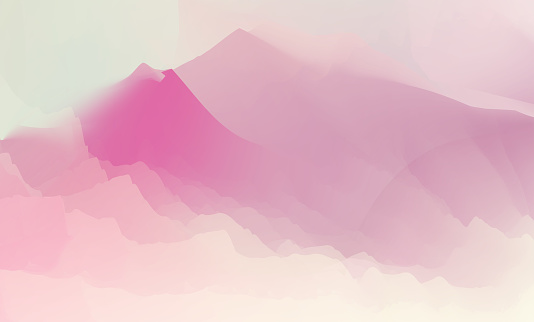 abstract fluid style nature  mountain landscape background