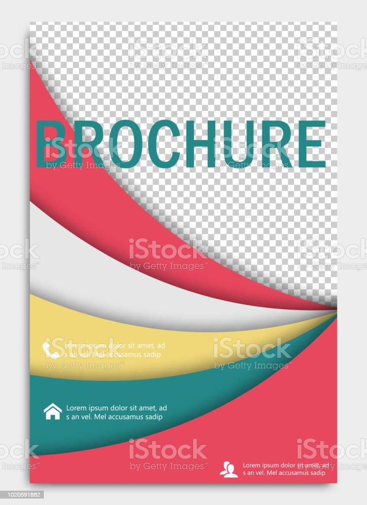 Abstrakte Flyer Designhintergrund Broschürevorlage Deckblatt Für  Jahresbericht Einsetzbar Für Magazin Business Modell Set Ausbildung  Präsentation ...