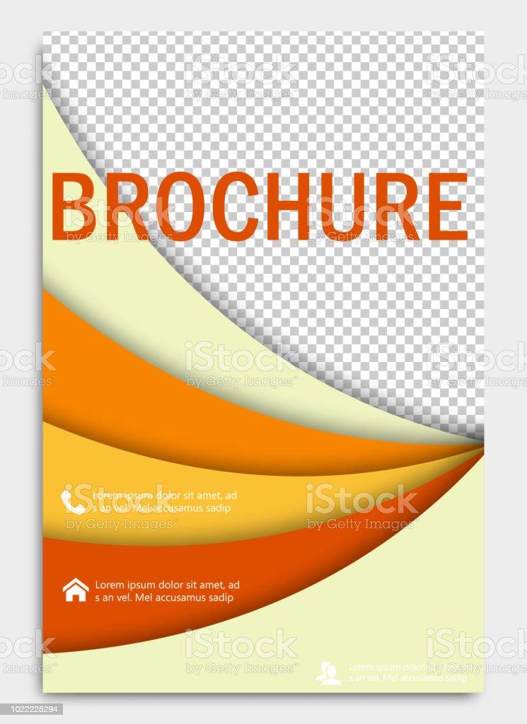 Fantastisch Abstrakte Flyer Designhintergrund Broschürevorlage Deckblatt Für  Jahresbericht Einsetzbar Für Magazin Business Modell Set Ausbildung  Präsentation ...