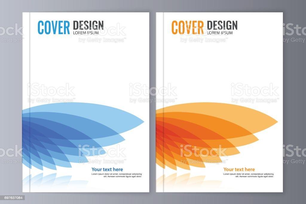 abstract flyer design background brochure template stock vector art