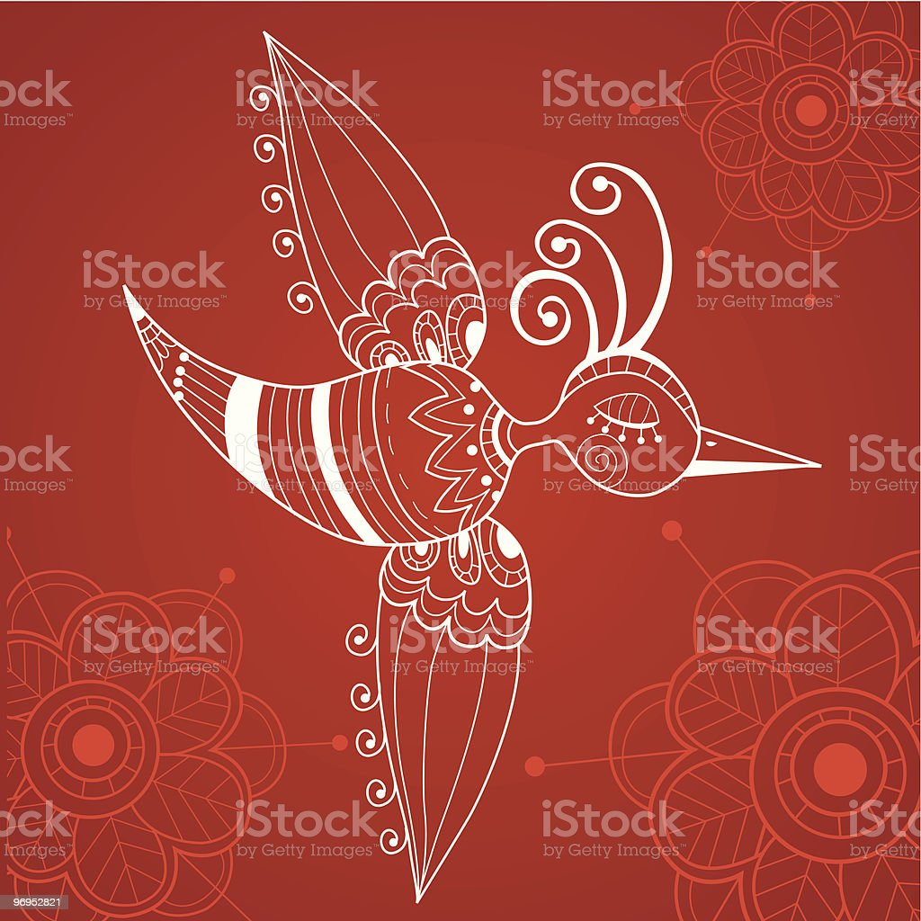 abstract flying bird royalty-free abstract flying bird stock vector art & more images of abstract