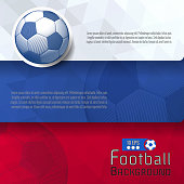 Abstract football graphic template BG