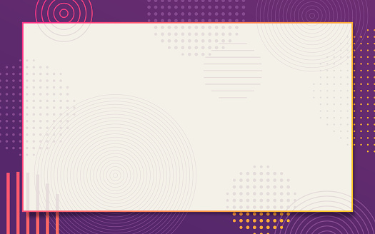 Abstract Frame Border Background