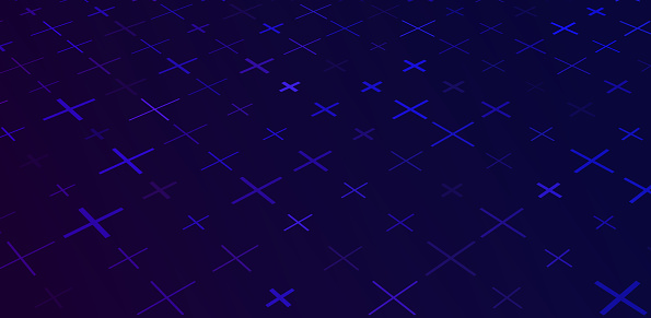 Abstract grid frame tech background design.
