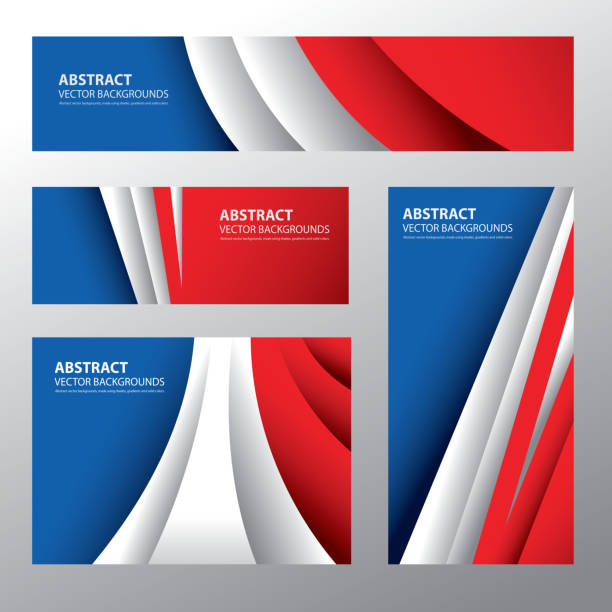 ilustrações, clipart, desenhos animados e ícones de abstrato frança, cores da bandeira francesa (vetores - moda parisiense