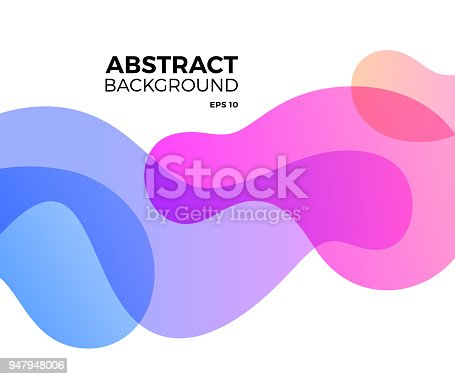 istock Abstract Freeform Background 947948006