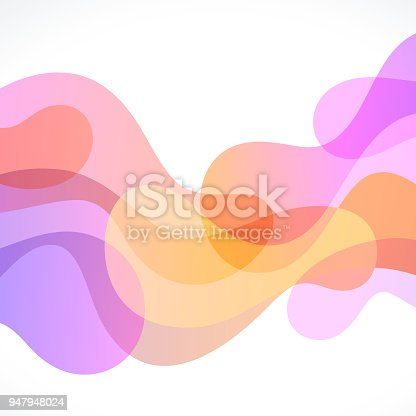 istock Abstract Freeform Background 947948024