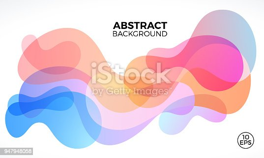 istock Abstract Freeform Background 947948058
