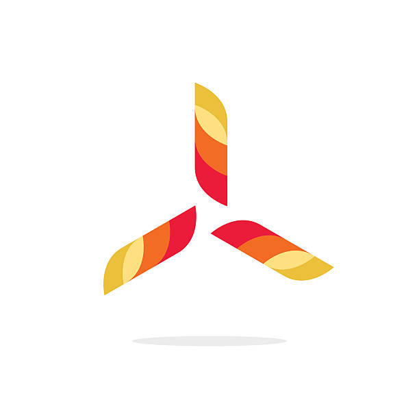 Modern Drone Logo Collection: Propeller Illustrations, Royalty-Free Vector Graphics