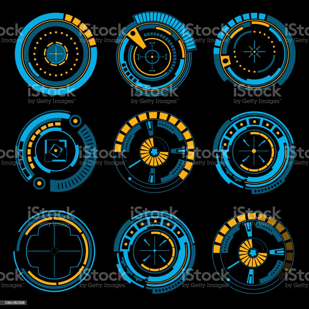 Abstract Future Concept Vector Futuristic Virtual Graphic