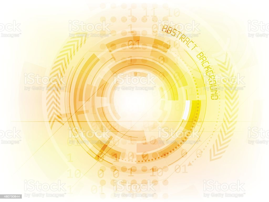 Abstract Future Technology Vector Background Stock Illustration - Download  Image Now