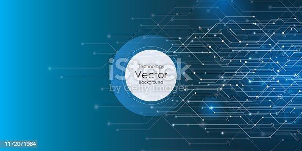 Technology, Circle, Data, Internet, Web Banner