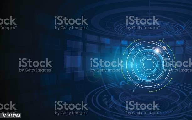 Abstract futuristic circle sci fi technology innovation concept vector id821675798?b=1&k=6&m=821675798&s=612x612&h=jjy 2rwp204cqs2i6hi2bzkjoyseflyoyultxxmiivi=