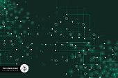 istock Abstract futuristic circuit board 982717636