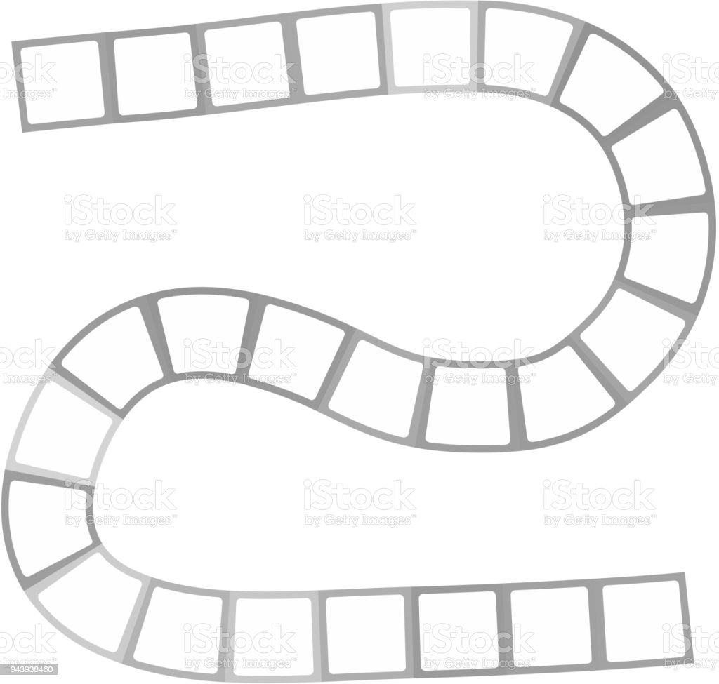 abstract futuristic maze zigzag pattern template for childrens games