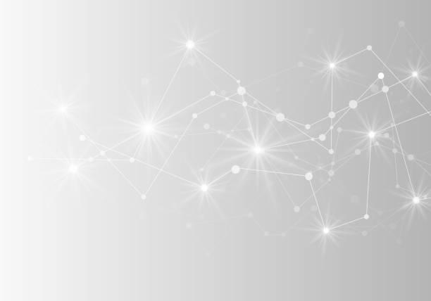 抽象的な未来的なネットワーク。ベクトルの図。 - ネットワーク点のイラスト素材/クリップアート素材/マンガ素材/アイコン素材