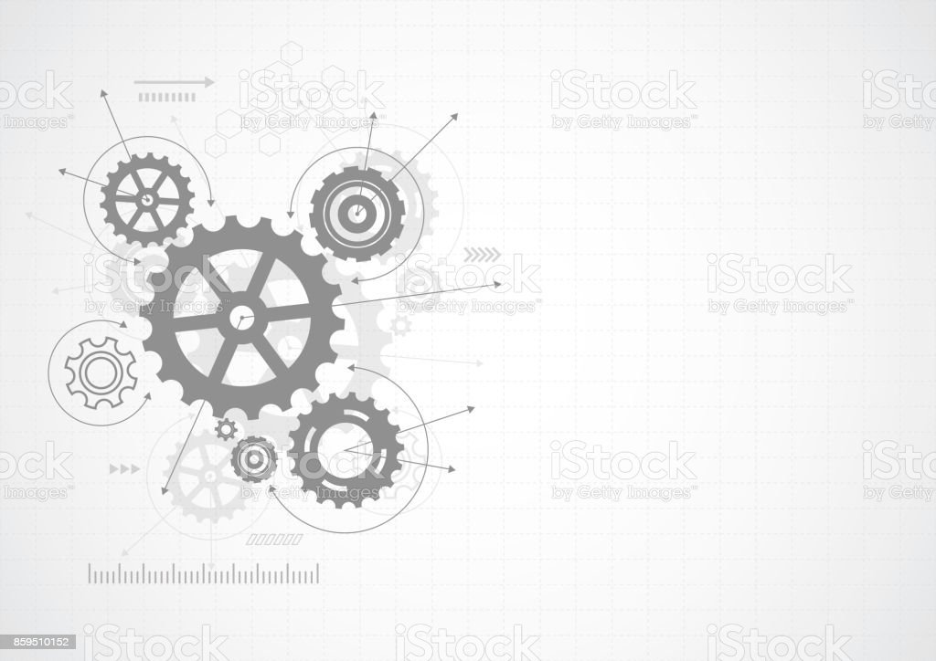 Abstract gear wheel mechanism background. Machine technology. Vector illustration royalty-free abstract gear wheel mechanism background machine technology vector illustration stock illustration - download image now