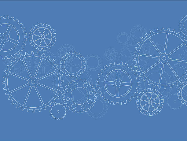 Abstract gears background Illustration contains a transparency blends/gradients. Additional .aiCS6 included. EPS 10 gearshift stock illustrations