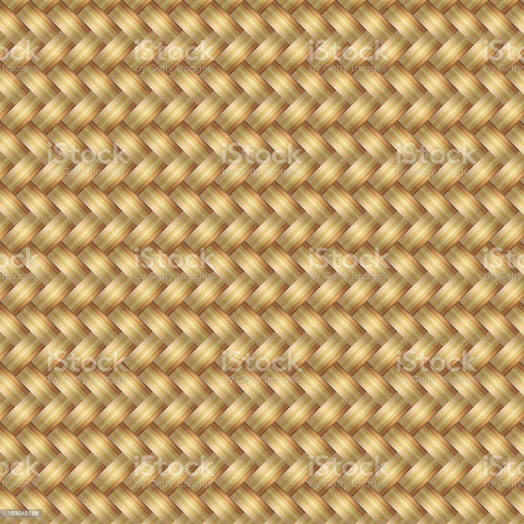 Abstract generated wicker pattern seamless mat background royalty-free stock vector art