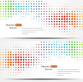 Abstract colorful geo banners with a space for your text. EPS 10 vector illustration, contains transparencies. High resolution jpeg file included(300dpi).