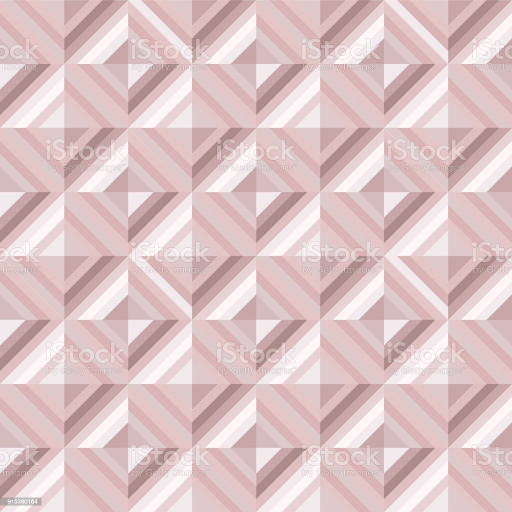 Abstract Geo Pattern In Blush Pink Colors Stock Vector Art More