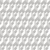 Abstract geometric background. 3d texture. White background. Geometric design element. Can be used for web design, print design, and others. Vector illustration. Trendy design.
