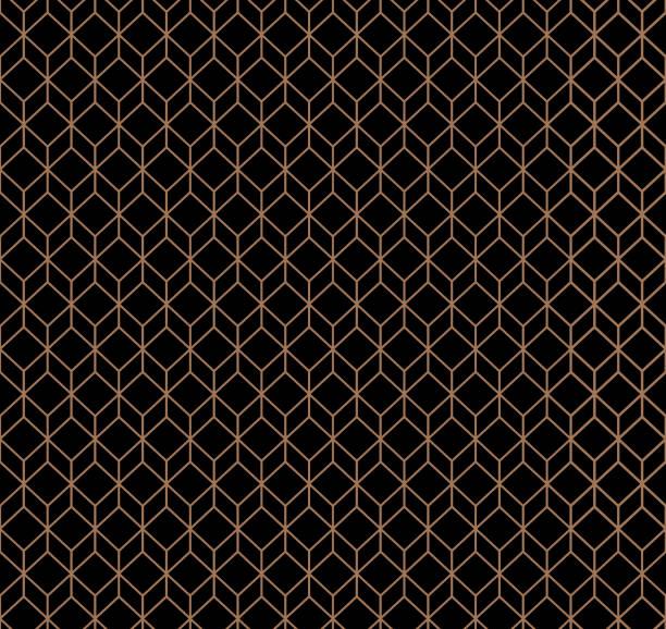 abstrakten geometrischen hintergrund würfel - edelrost stock-grafiken, -clipart, -cartoons und -symbole