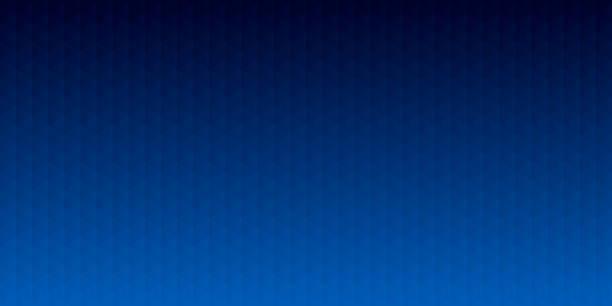illustrations, cliparts, dessins animés et icônes de fond géométrique abstrait - mosaïque avec des motifs de triangle - gradient bleu - bleu