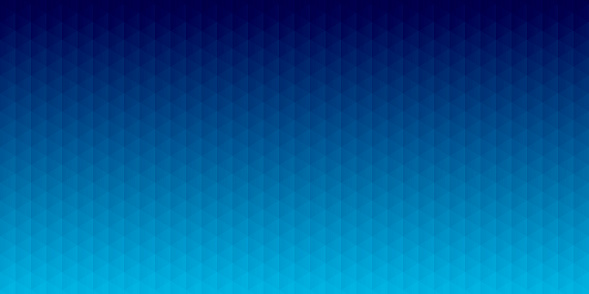 Abstract geometric background - Mosaic with triangle patterns - Blue gradient
