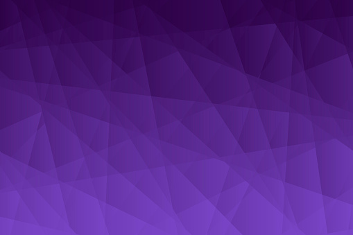 Abstract geometric background - Polygonal mosaic with Purple gradient
