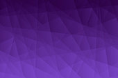 Modern and trendy abstract geometric background. Beautiful polygonal mosaic with a color gradient. This illustration can be used for your design, with space for your text (colors used: Purple, Blue, Black). Vector Illustration (EPS10, well layered and grouped), wide format (3:2). Easy to edit, manipulate, resize or colorize.