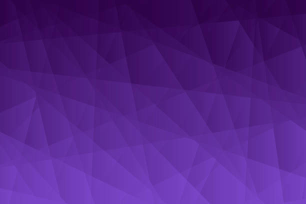 Abstract geometric background - Polygonal mosaic with Purple gradient vector art illustration