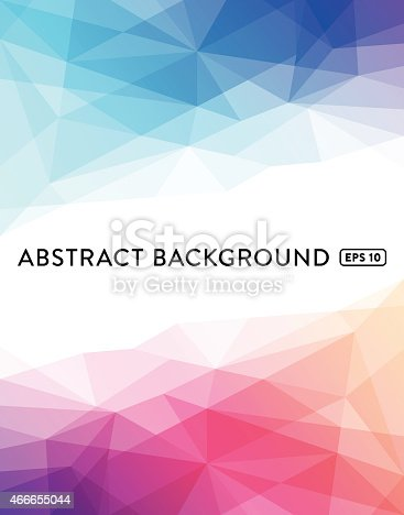 Multi colored abstract low poly geometric background.EPS 10 file with transparencies.File is layered with global colors.Hi res jpeg without text included.More works like this linked below.http://www.myimagelinks.com/Lightboxes/backgrounds_files/shapeimage_2.png