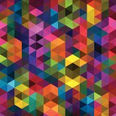 Abstract geometric background with space for your text.