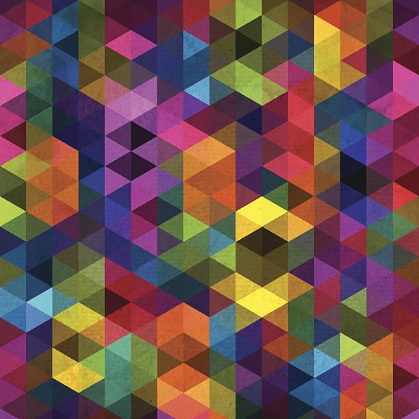 abstrakte geometrische hintergrund - mosaikglas stock-grafiken, -clipart, -cartoons und -symbole