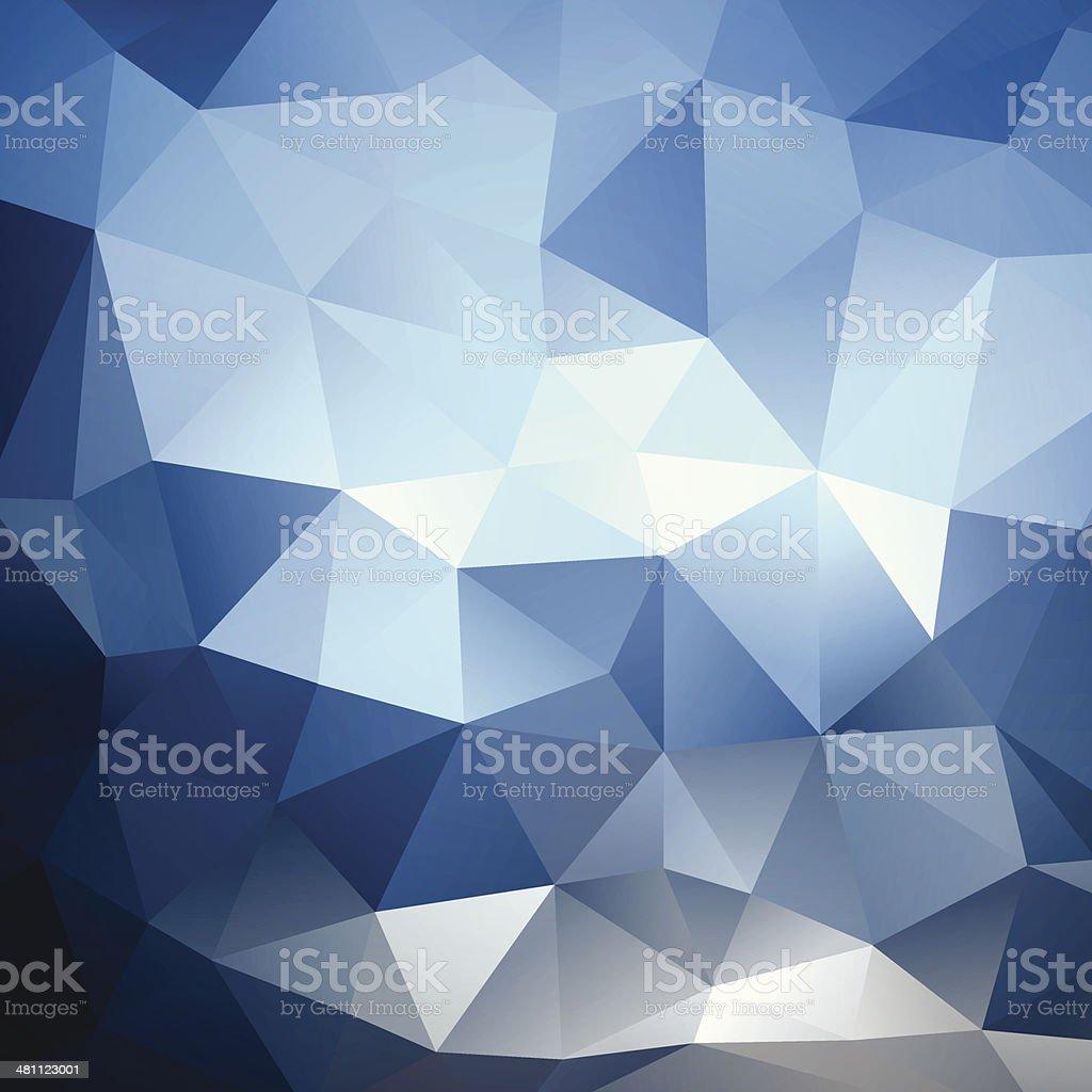 抽象的な幾何学の背景 ベクターアートイラスト